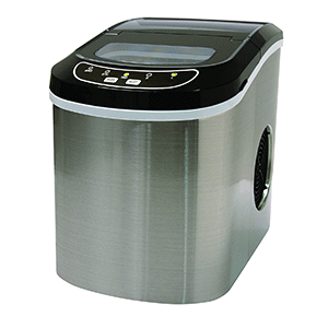 Stainless-Steel-26-Lbs-Counter-Top-Ice-Maker