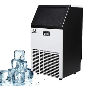 Commercial Ice Maker, BEAMNOVA Stainless Steel Ice Making Machine Commercial Ice Cube Maker