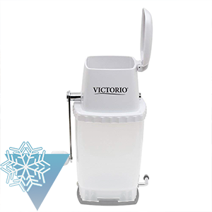 Portable Hand Crank Ice Crusher by VICTORIO VKP1126 Featured Image